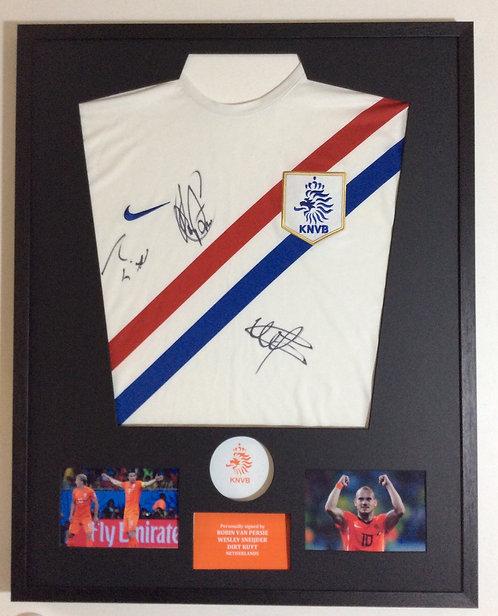 Van Persie, Sneijder & Kuyt