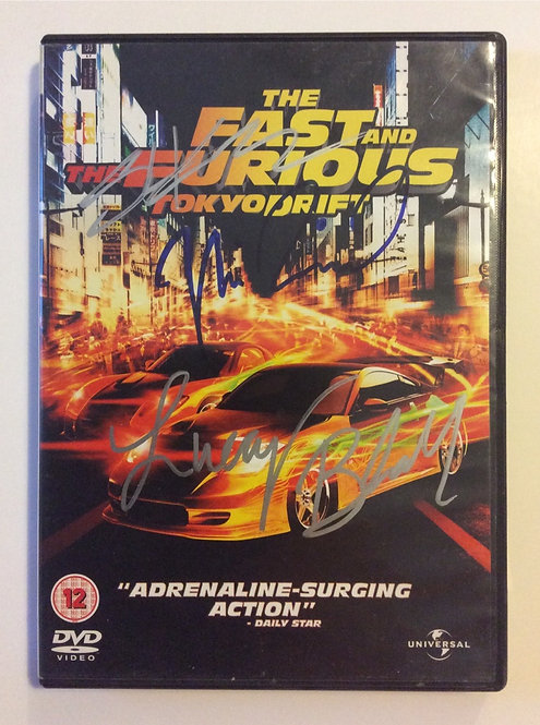 The Fast & Furious DVD FF12-H