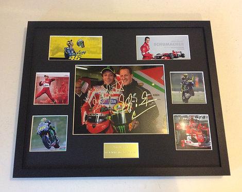 Valentino Rossi & Michael Schumacher VRMS2