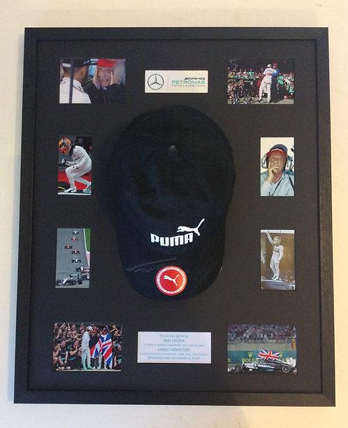Lewis Hamilton & Niki Lauda LH36