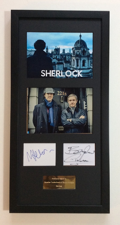 Cumberbatch & Freeman SHERLOCK BCMF2