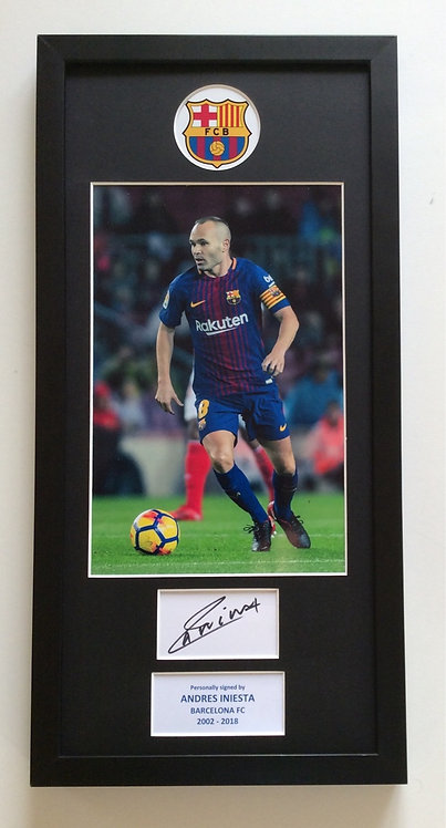 Andres Iniesta AI22
