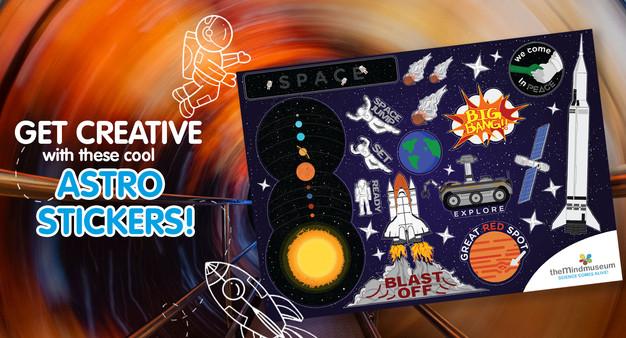 Astro Stickers Set