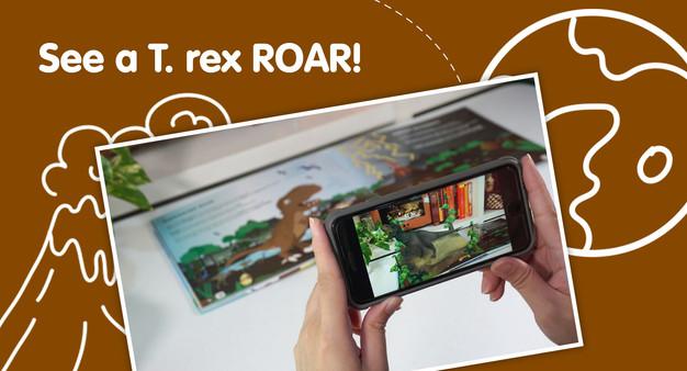 See a T. rex ROAR!