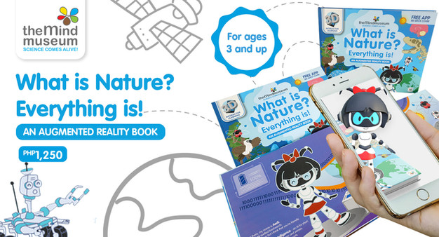 """""""What is Nature? Everything is!"""" Augmented Reality Book"""