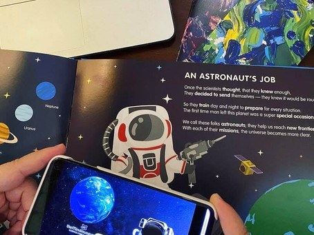 Inside The Mind Museum's 'What is Nature? Everything is!' Augmented Reality Book