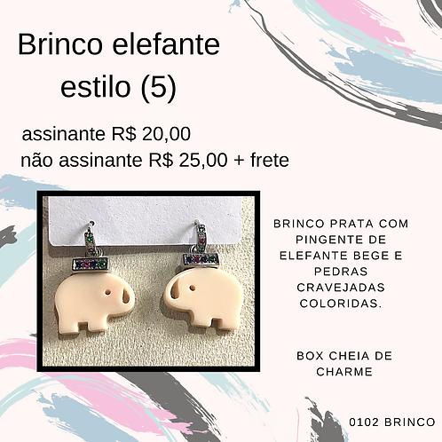 Brinco elefante estilo (5)