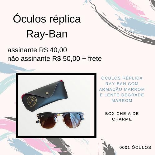 Óculos réplica Ray-Ban
