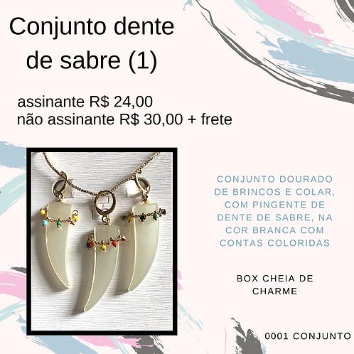 Conjunto dente de sabre (1)