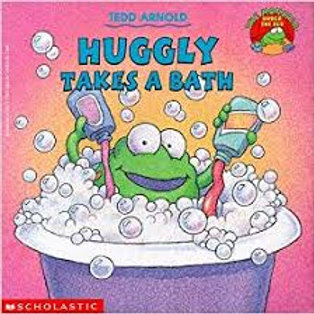 Huggly Takes A Bath