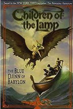 Blue Djinn of Babylon (Children of the Lamp (Paperback))
