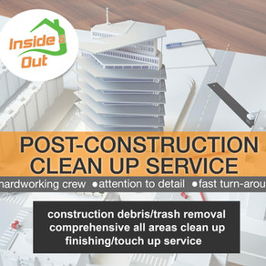Post Construction Clean-up
