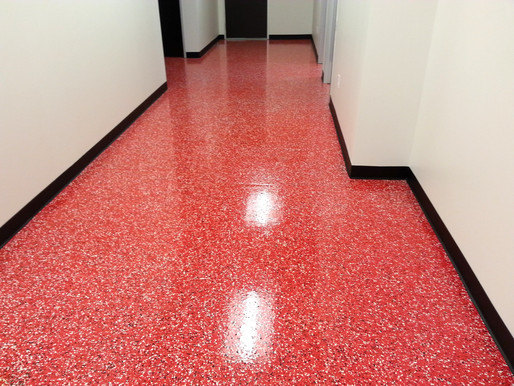 Decor-Flake Epoxy Floor