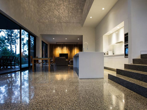 Polished Concrete Refinish