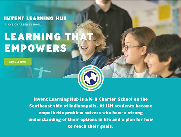Invent Learning Hub website