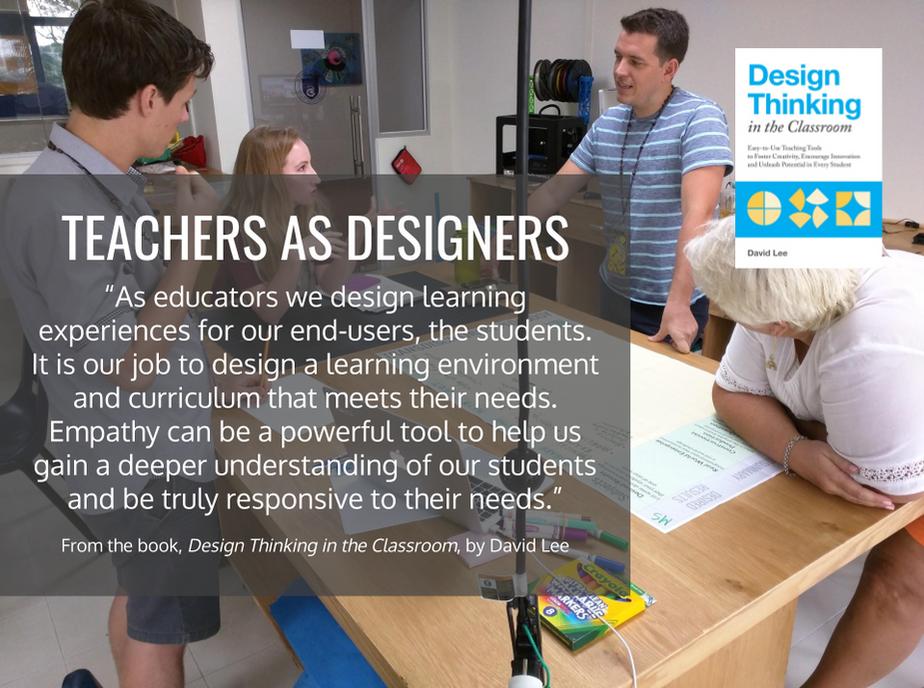 Educators as Designers - DT Class Boo