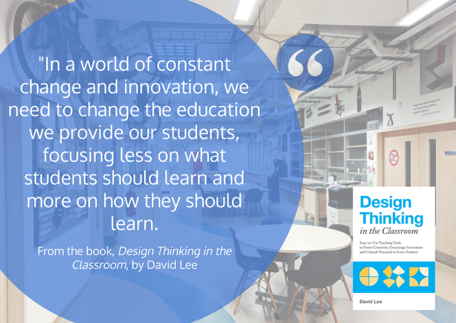 World of Change - DT Class Book Quote