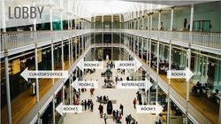 Virtual Museum Lobby