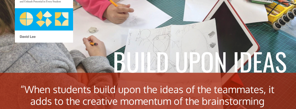 Build Upon Other Ideas - DT Class Book Quo