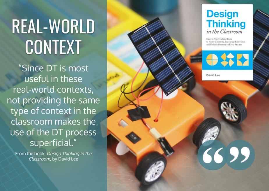 Real World Context - DT Class Book Qu