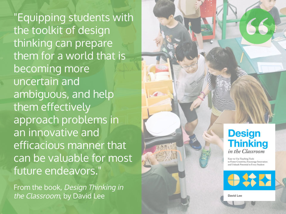 Equipping Students with Toolkit - DT Class Book Quote.pn