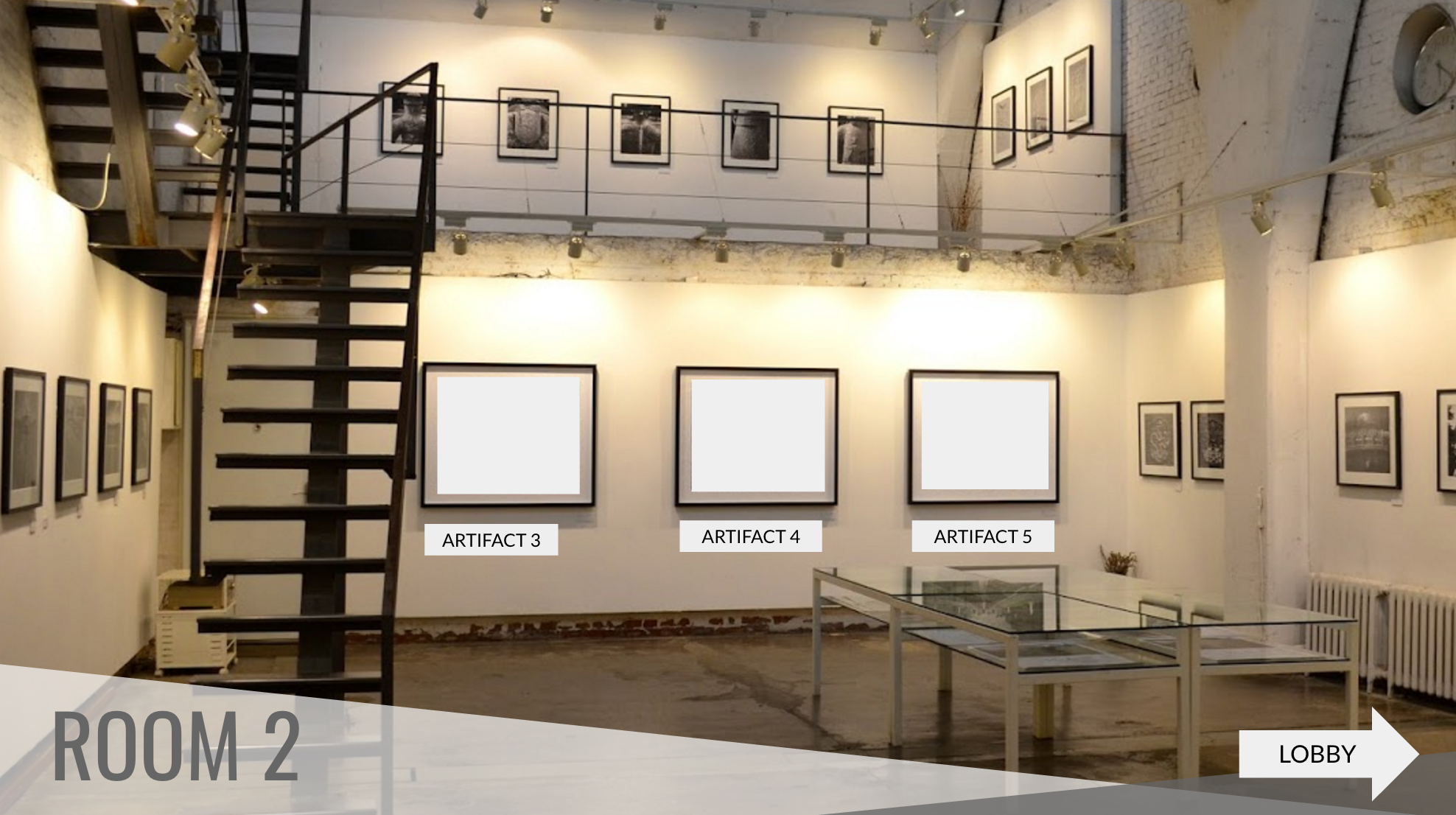 Virtual Museum Room 2