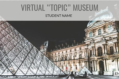Virtual Museum for Google Slides