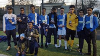 U16's Run Rampant in Mayors Cup