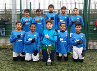 U12s THYL League and Cup Double