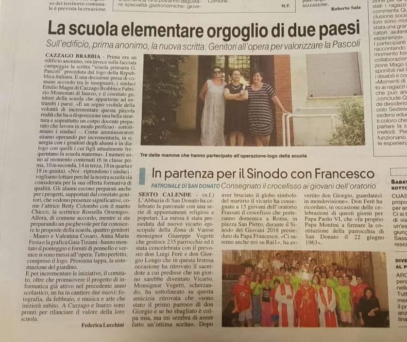 Articolo La Prealpina Scritta edificio.j