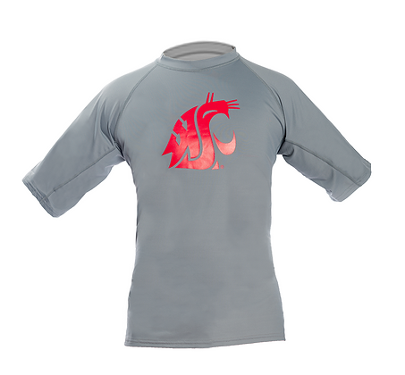 Cougar Pride Rash Guard Grey