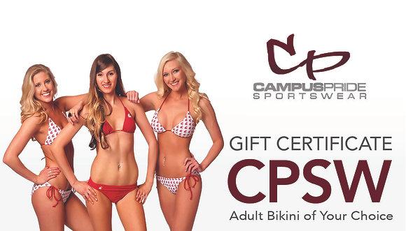 Gift Certificate - Bikini