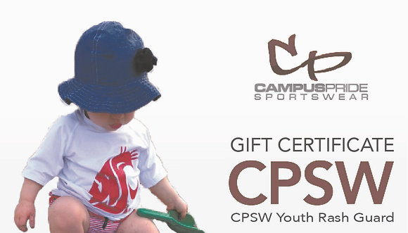 Gift Certificate - Youth Rash Guard