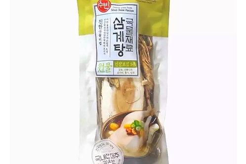 SUBIN Samgyetang Ginseng Chicken Broth Pack