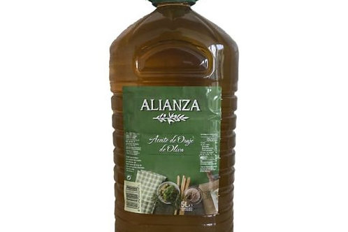 POMACE OLIVE OIL 5 LITERS PET ALIANZA SPAIN