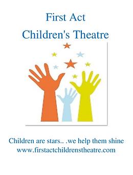 First Act Children's Theatre Logo 2018.p