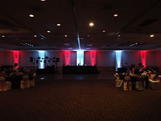 Up Lighting at Ramada Inn, St. Joseph MO