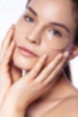 Hautpflege Shooting mit natürlichen Makeup