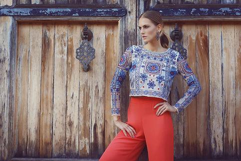 Fashion Editorial mit Model Ewelina Olczak von Indeed Models