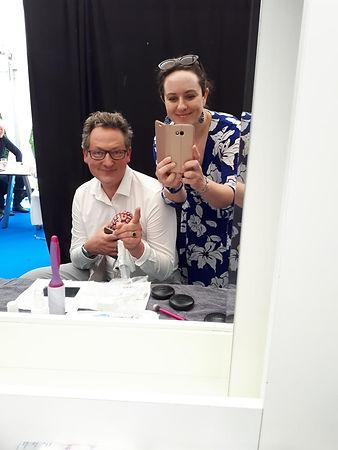 Peggy Passehl mit Dr. Eckart von Hirschhausen