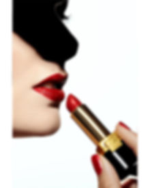 Beautyeditorial roter Lippenstift
