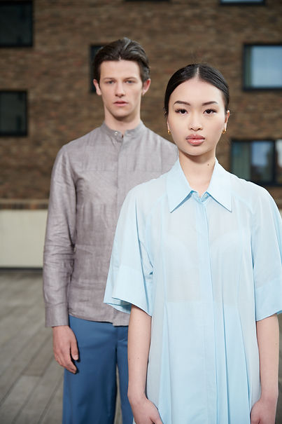 Asiatisches Model in Brachmann