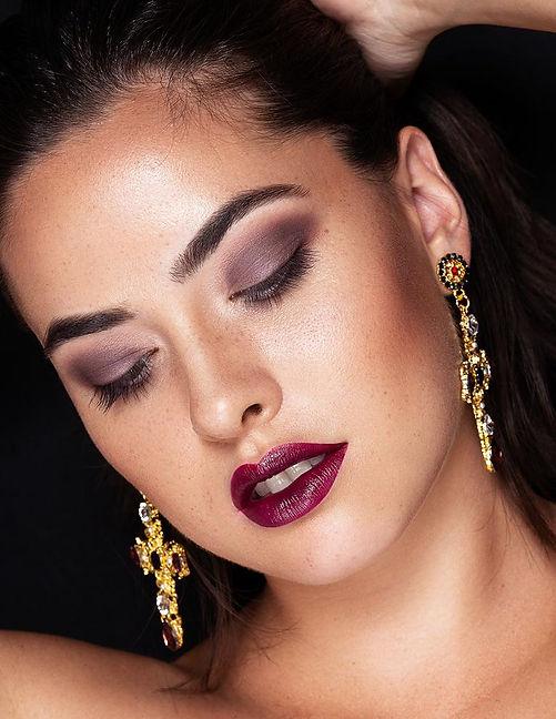 Beautyeditorial mit Laura Jacke von Faze Models