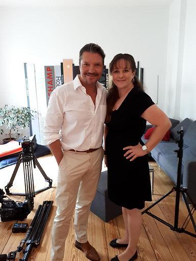 Peggy Passehl mit Hardy Krüger Jr.