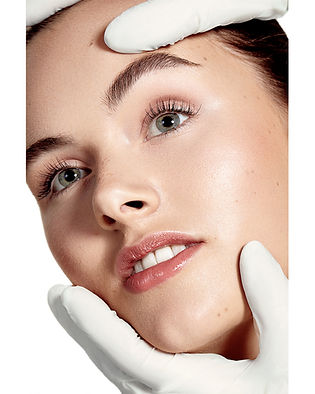 Beautyshooting No makeup mit Charlotte von Faze Models