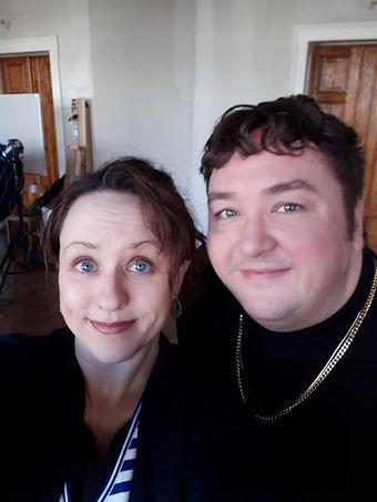 Peggy Passehl mit Daniel Zillmann