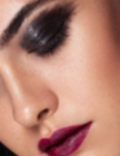 glossy smokey eye