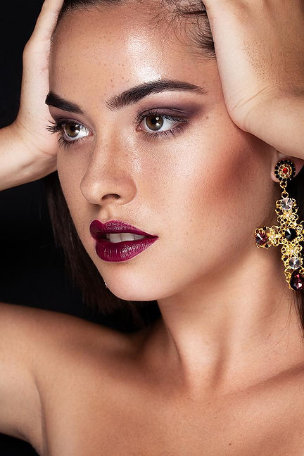 Beautyeditorial dunkle Lippen Beerenton