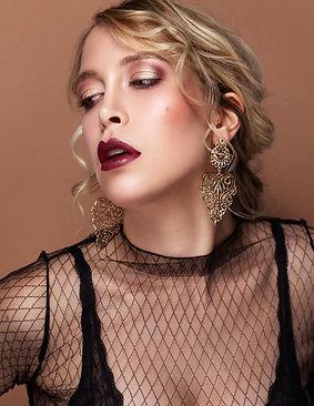 elegantes Abend makeup