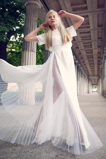 Fashion Editorial mit einer Kollektion von Büsra Ebru Döger